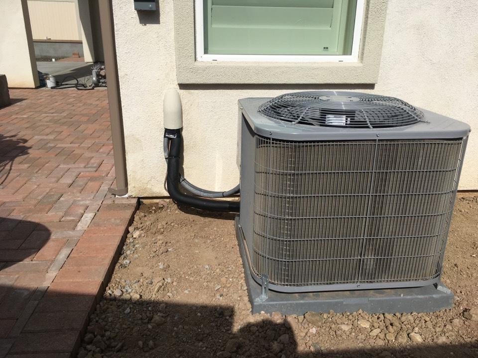 Santa Clarita, CA - Carrier air conditioner installation