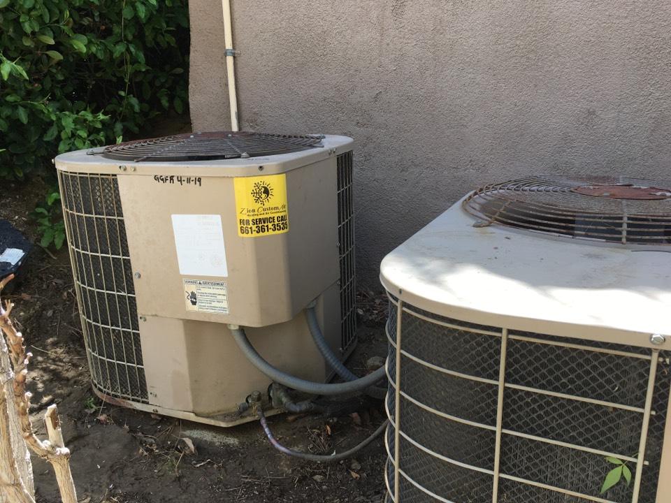 Castaic, CA - Carrier air conditioning repair