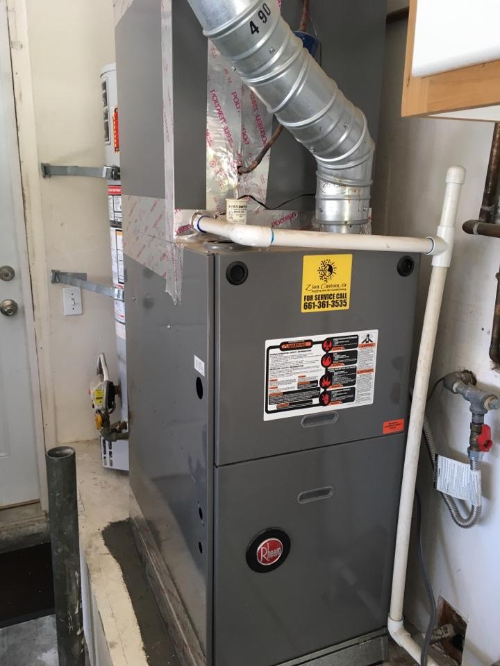Santa Clarita, CA - Rheem air conditioning service