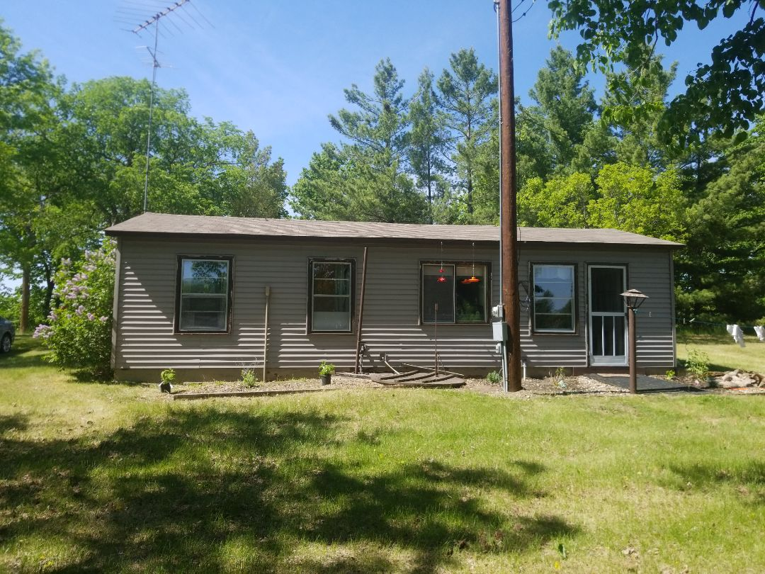 Dent, MN - I provided the homeowner with a free estimate for James Hardie cement board siding, seamless gutters, replacement vinyl windows.