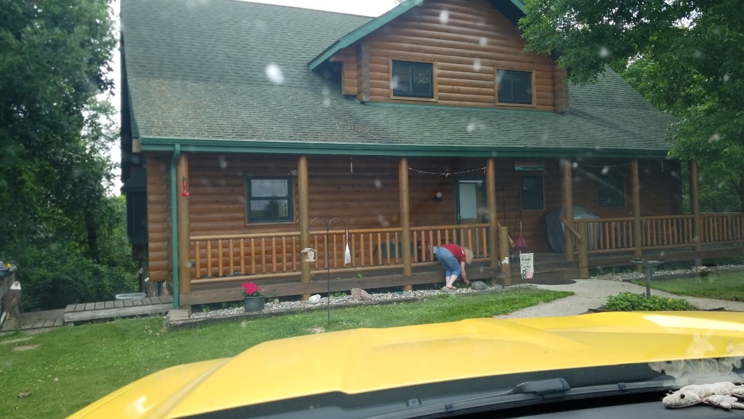 Pelican Rapids, MN - Homeowner is excited To have hernoux shingle roof replacement installed