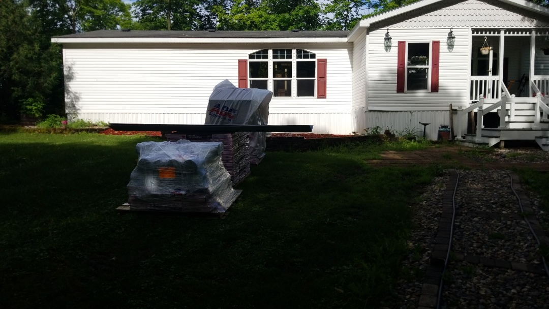 Pelican Rapids, MN - We will soon be installing the homeowner's new shingle roof