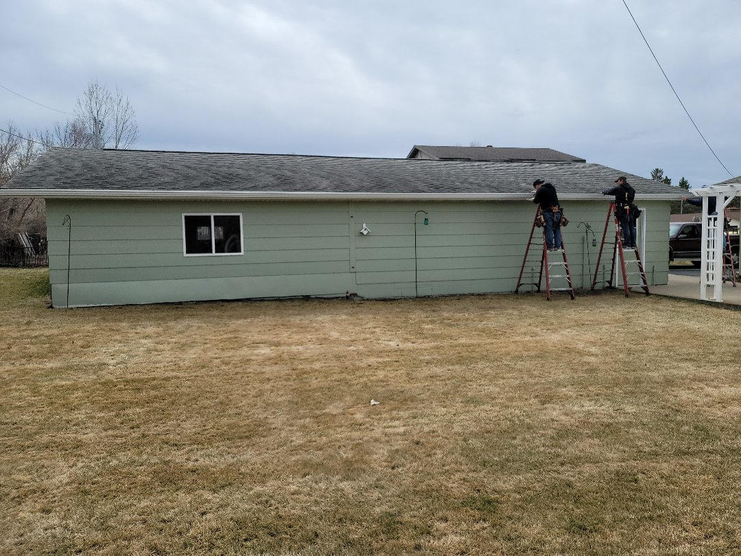 Detroit Lakes, MN - Excited to have new seamless gutters