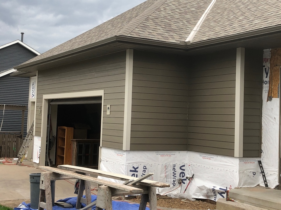 Stillwater, MN - New roof, stonework and James Hardie siding