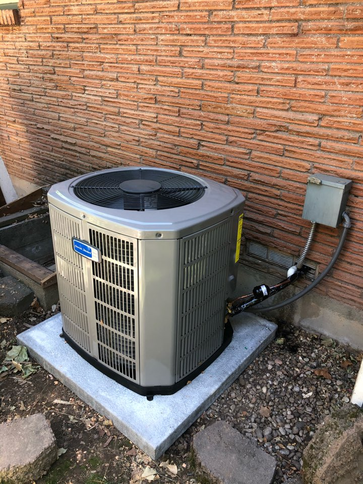 Boise, ID - Installed American Standard Furnace and AC.
