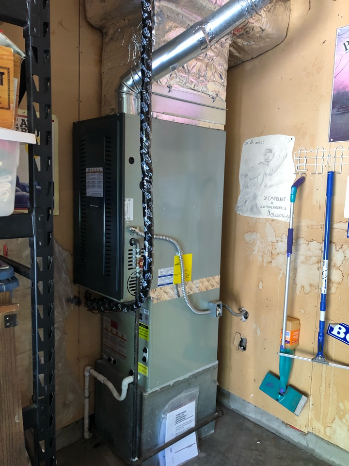 Boise, ID - Installed an American Standard Furnace and A/C for a customer in Boise.