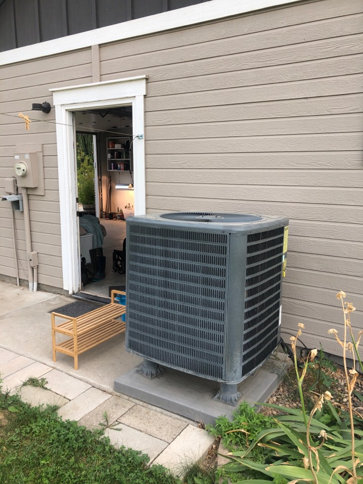 Parma, ID - Diagnosed and repaired a customers heat pump in Parma, ID