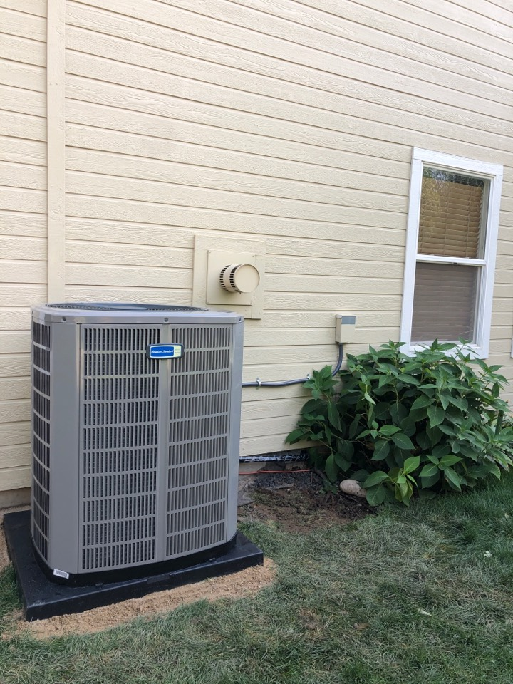 Boise, ID - Installed a 16 Seer 3.5 Ton AC Condenser for a customer in the Boise area