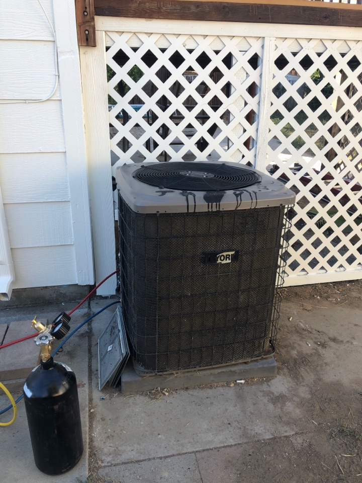 Meridian, ID - Replaced the line set on an A/C unit for a customer in Meridian.