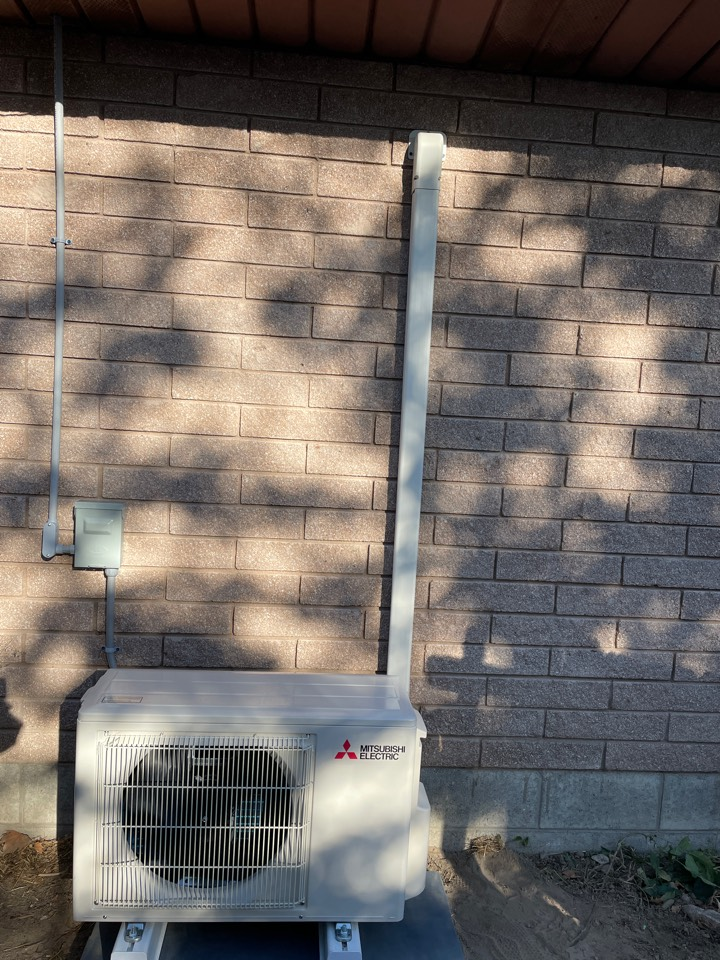 Caldwell, ID - A Mitsubishi electric mini split install for two customers installed in Caldwell