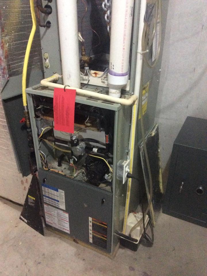 Columbia, PA - Trane heat exchanger replacement