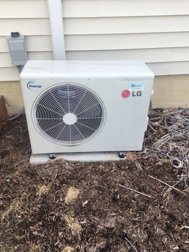 Columbia, PA - Lg ductless heat pump troubleshooting repair thermistor Columbia