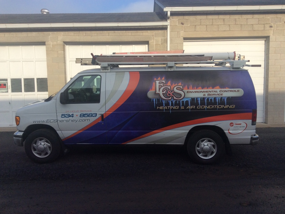 Camp Hill, PA - Maintenance and service on commercial heating and cooling system
