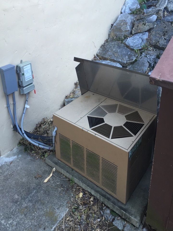 Lititz, PA - Install new residential oil furnace and air conditioner