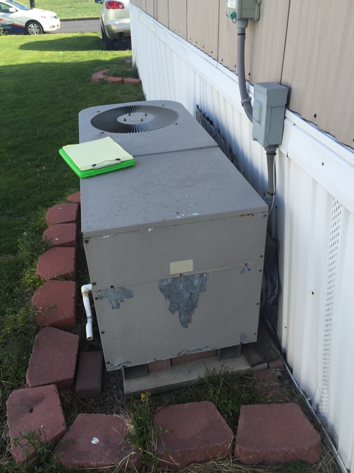 Grantville, PA - Estimate the cost to replace package air conditioner