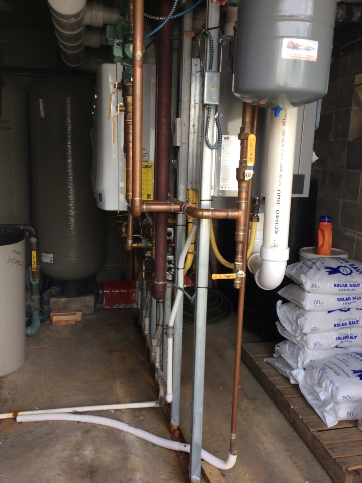 Myerstown, PA - Replace flow sensor on navien water heater
