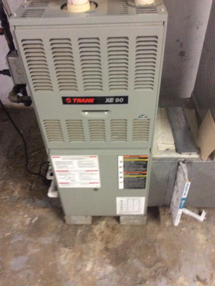 Middletown, PA - Trane gas furnace repair fix diagnosis
