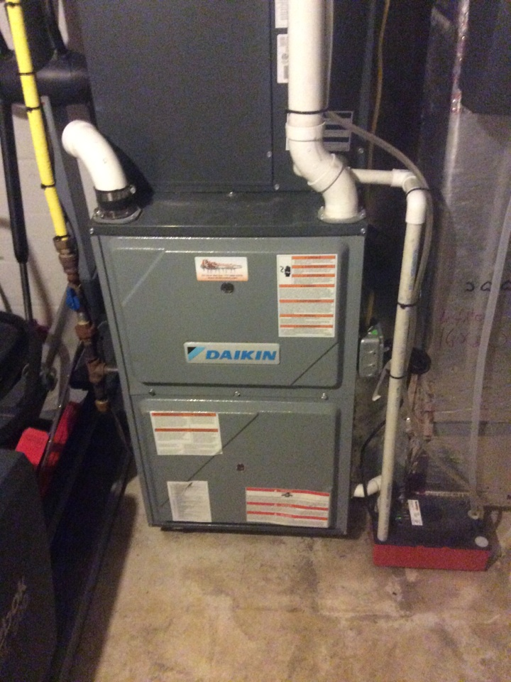 Mountville, PA - Gas furnace servicing maintenance tune up cleaning