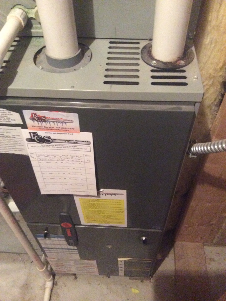 Annville, PA - Gas furnace repair