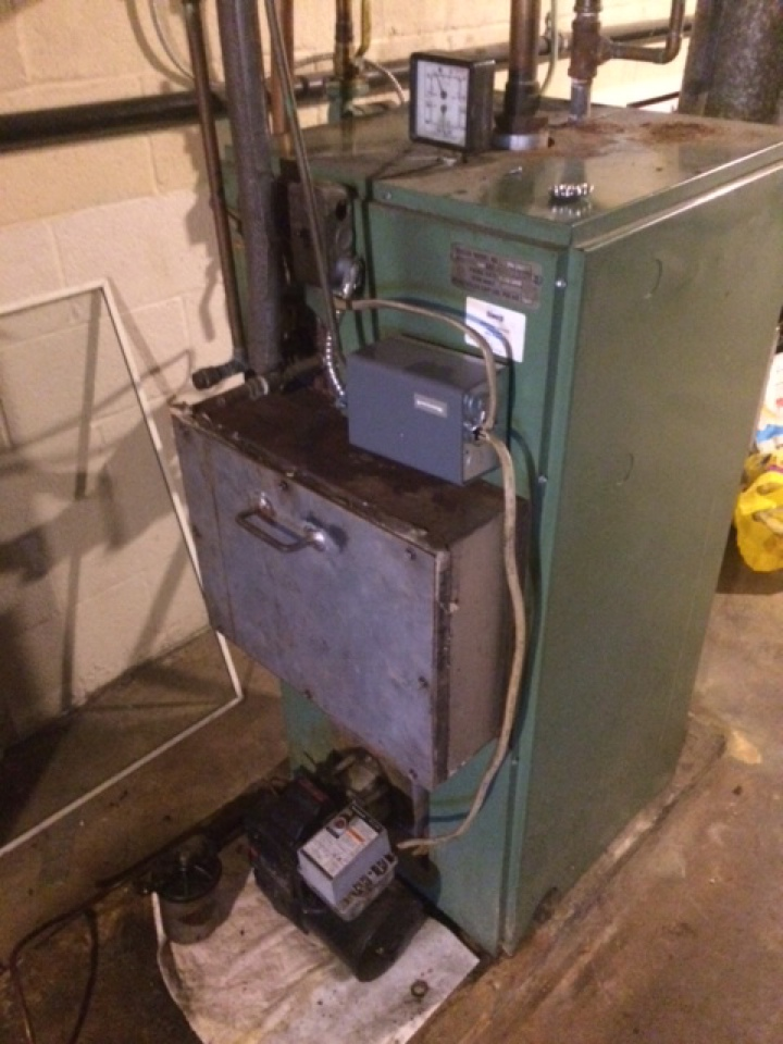Hummelstown, PA - Oil furnace boiler servicing tune up preventive maintenance cleaning
