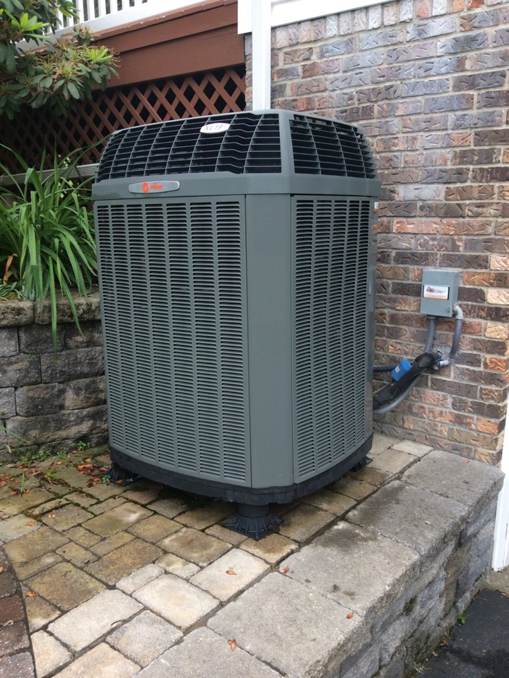 Heat pump servicing and preventive maintenance and repair