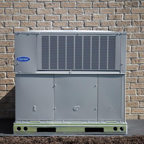 Rancho Cucamonga, CA - Replaced a 30+ year old unit with a new Carrier package unit.