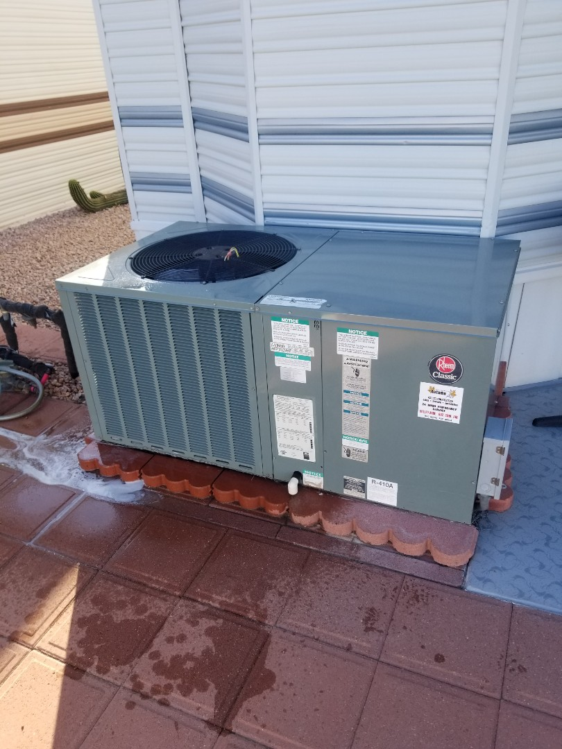 Sun City, AZ - Routine maintenance for an amazing customer in Paradise Valley RV Resort in Sun City, Arizona.