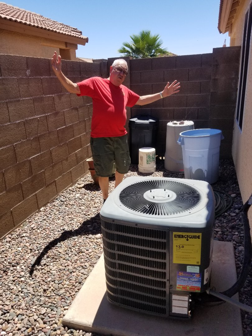 Chandler, AZ - Preventive maintenance on a Amana unit for a amazing couple in Chandler,Az.