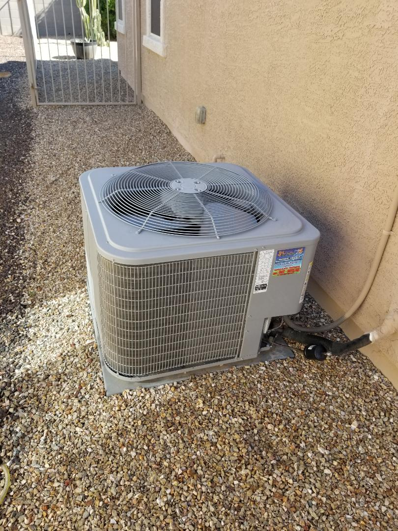 Preventive maintenance on a Carrier unit in Goodyear