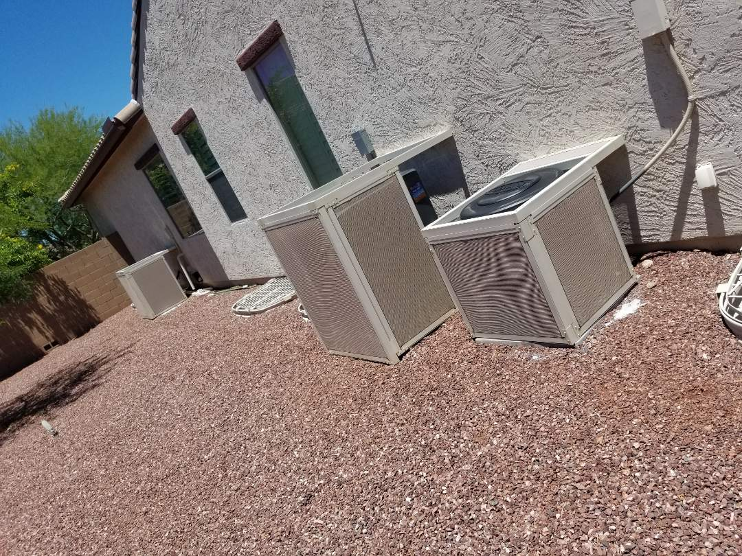 Preventive maintenance on Amana/Lennox units for AMAZING customers in Phoenix
