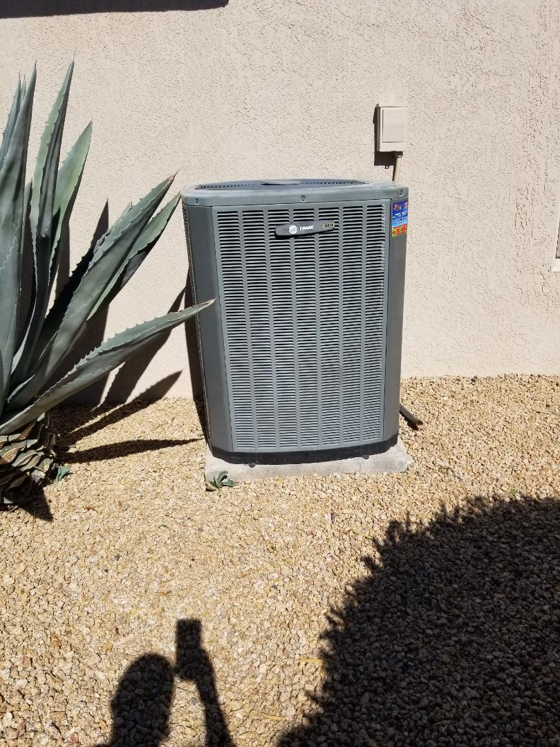Surprise, AZ - Automatic customer with a Trane unit in Sun City Grand