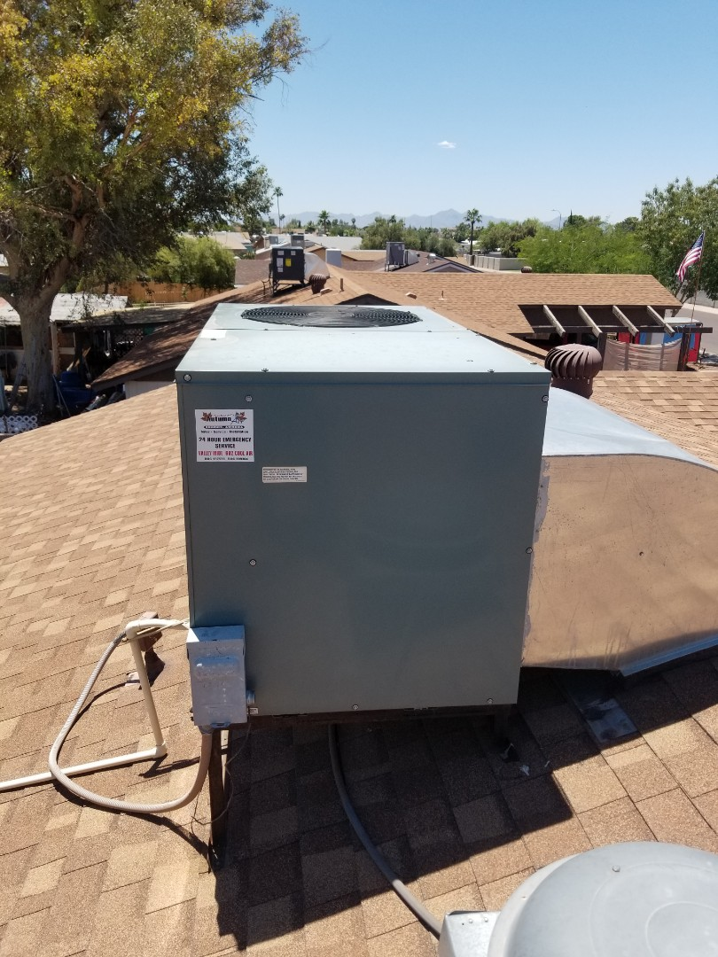 Glendale, AZ - Service call on a Rheem unit in Glendale