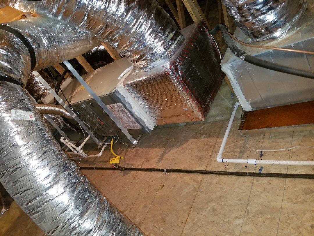 Phoenix, AZ - Doing two preventative maintenance tune ups and condenser coil cleanings on trane units.