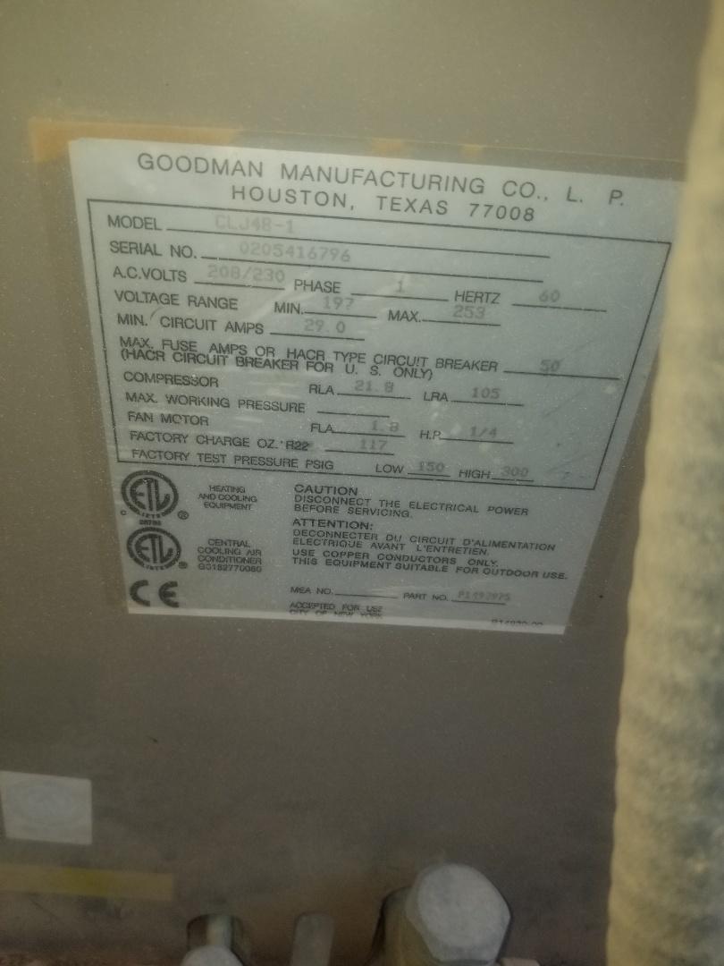 Maricopa, AZ - Groupon in maricopa on a Goodman unit