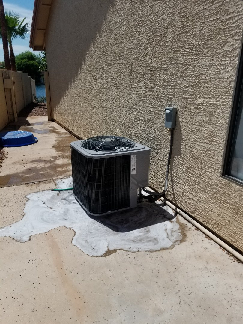 Avondale, AZ - Preventive maintenance on a Day & Night unit in beautiful Garden Lakes.