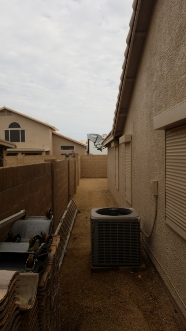 Sun City, AZ -  Completed a Groupon special, Tune Up and Condenser coil cleaning, here in Sun City Arizona