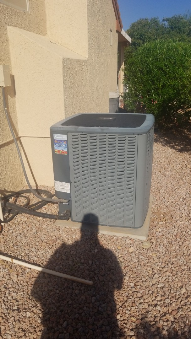 Sun City West, AZ - Completed a Service call on an Amana brand A/C unit here in Sun City West, Arizona