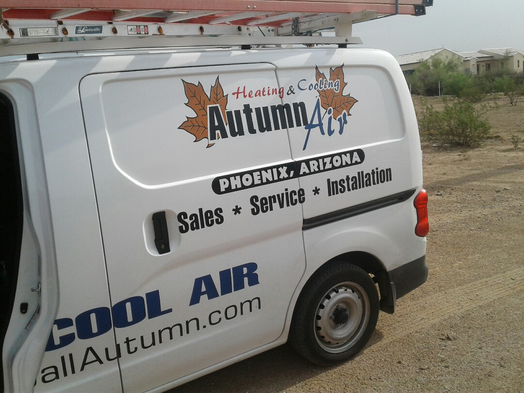 Wittmann, AZ - Working on a Tune up on a mini split air conditioner, and coil clean in Wittman Arizona.