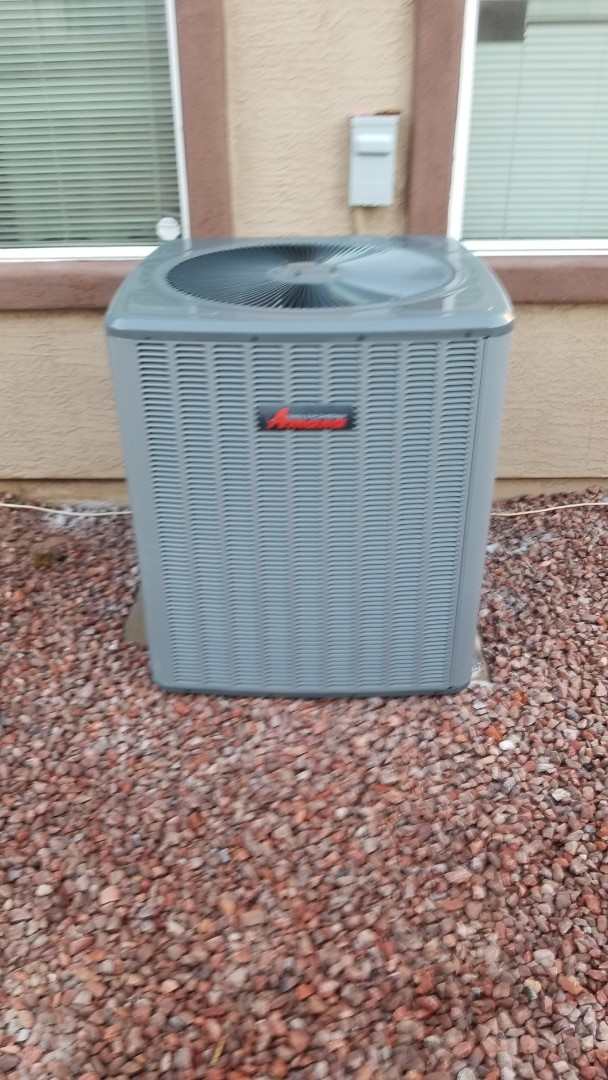 Phoenix, AZ - Completed the preventive maintenance on a Amana unit in Laveen, Arizona.