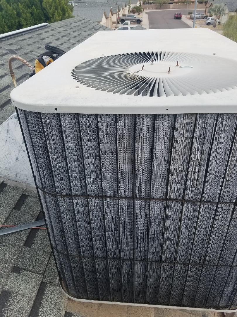 Phoenix, AZ - Replaced an outdoor fan motor in North Phoenix Arizona.