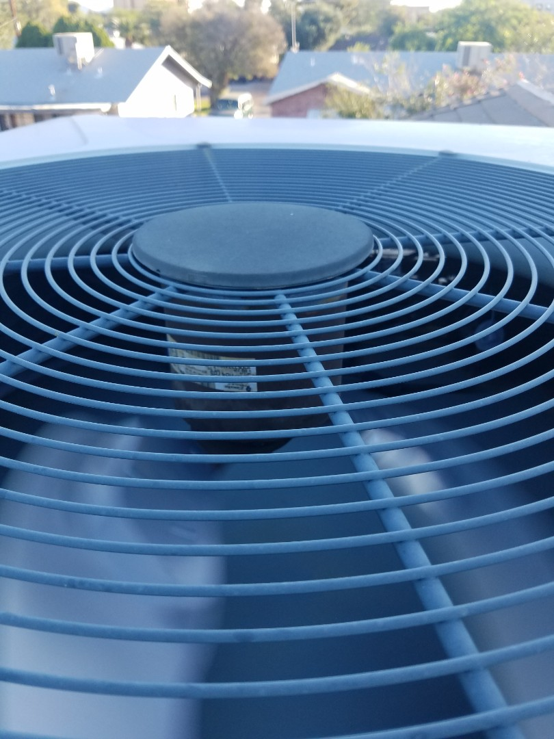 Doing a tune up on two heat pump split systems in Surprise Arizona.
