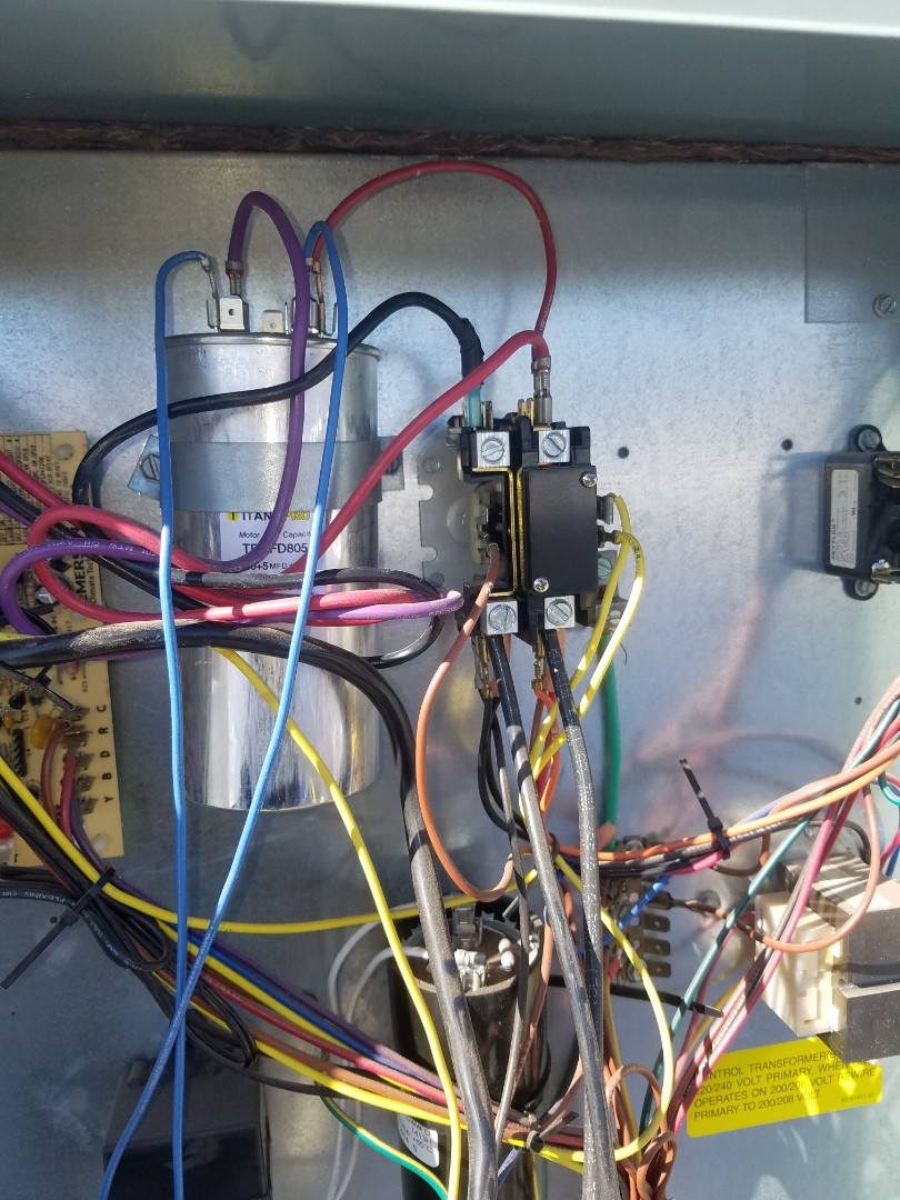 Surprise, AZ - Working on a tune up on a gas furnace system in Surprise, Arizona.