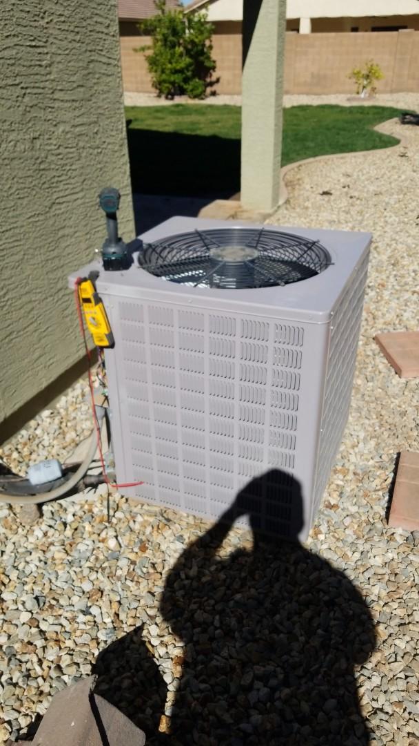 Phoenix, AZ - Working on preventive maintenance in South Phoenix, Arizona.