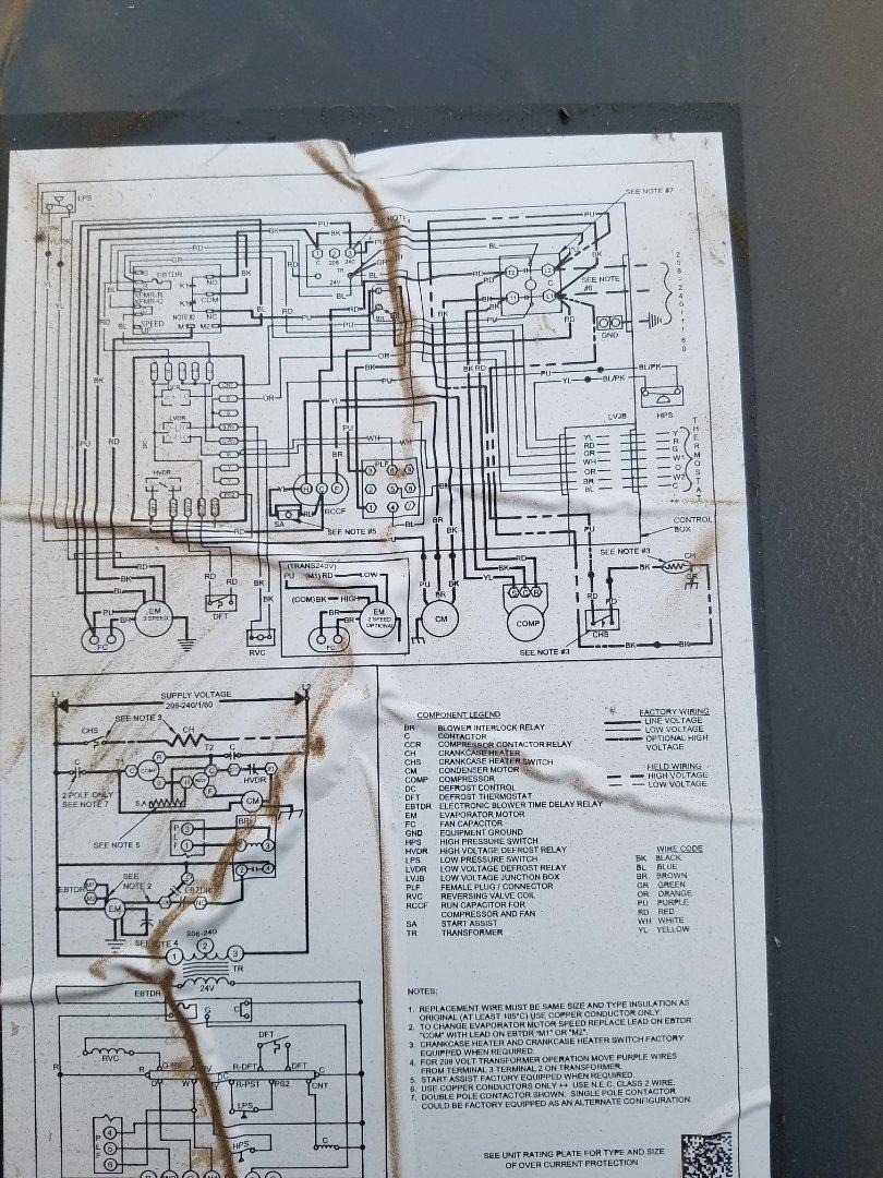 Glendale, AZ - Doing a tune up on a heat pump system in Glendale Arizona.
