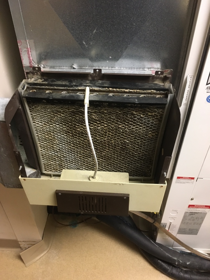 Zionsville, IN - Old April-air humidifier service maintenance and repair
