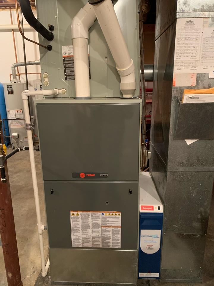 Carmel, IN - Six and 11 Year Old Trane Gas Furnace Winter Tune Ups