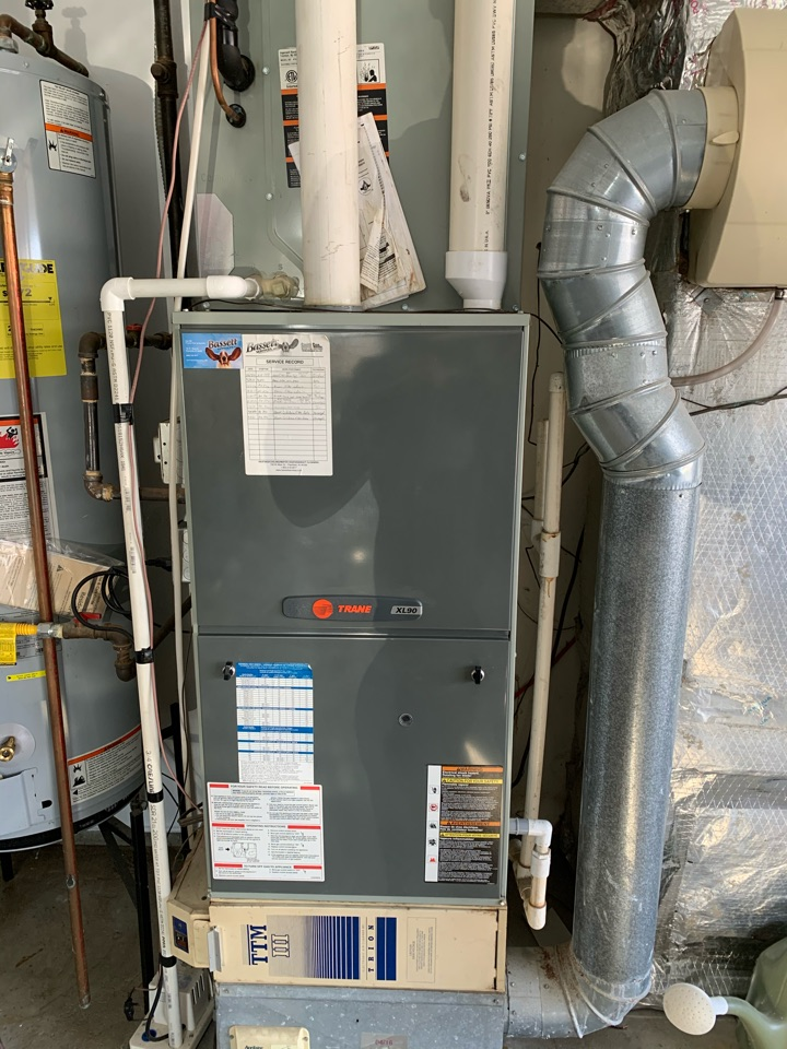 Noblesville, IN - 14 Year Old Trane Gas Furnace Winter Tune Up