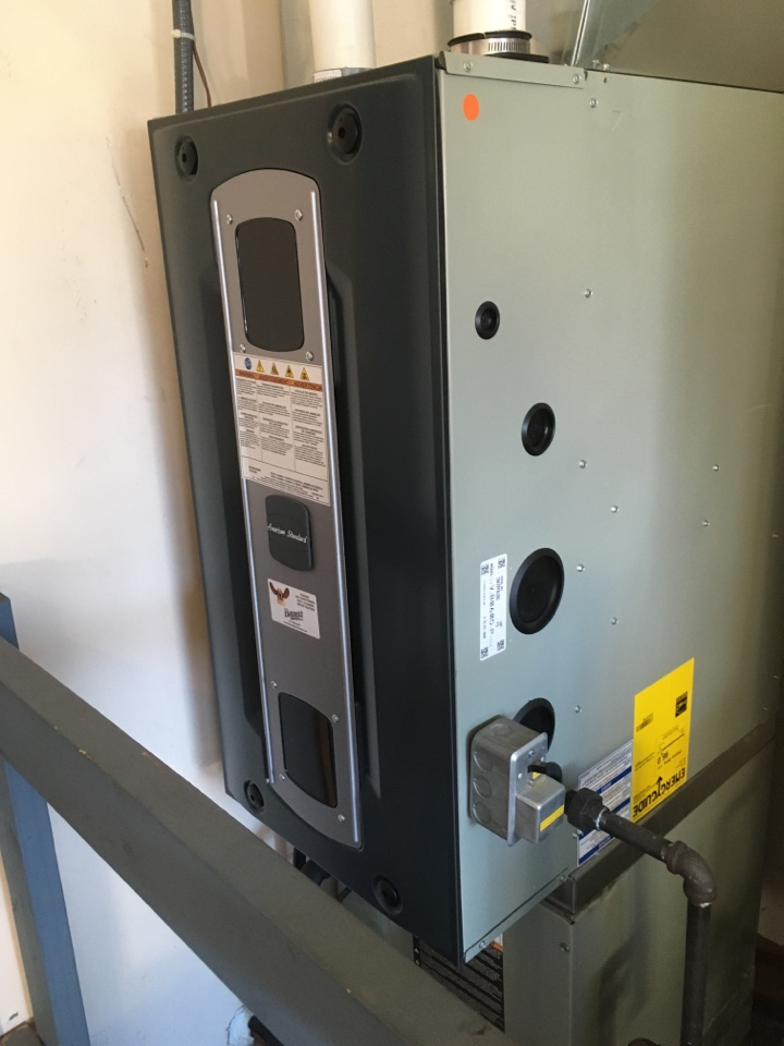 American standard gas furnace 96% efficient service maintenance and repair