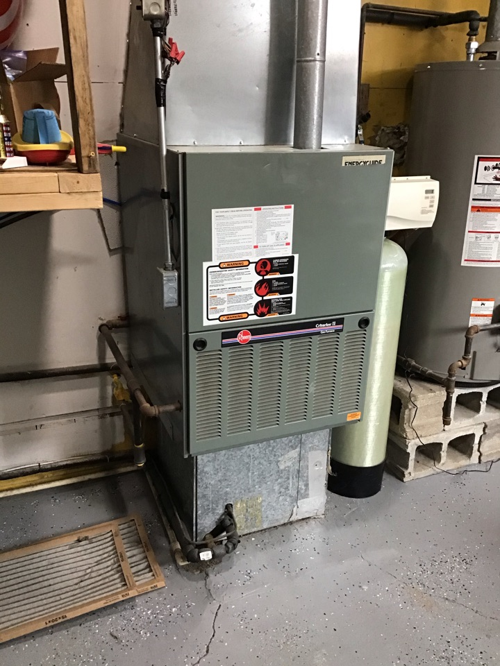 Greencastle, IN - Estimate on new installation of American Standard Gas Furnace And Air Conditioner.