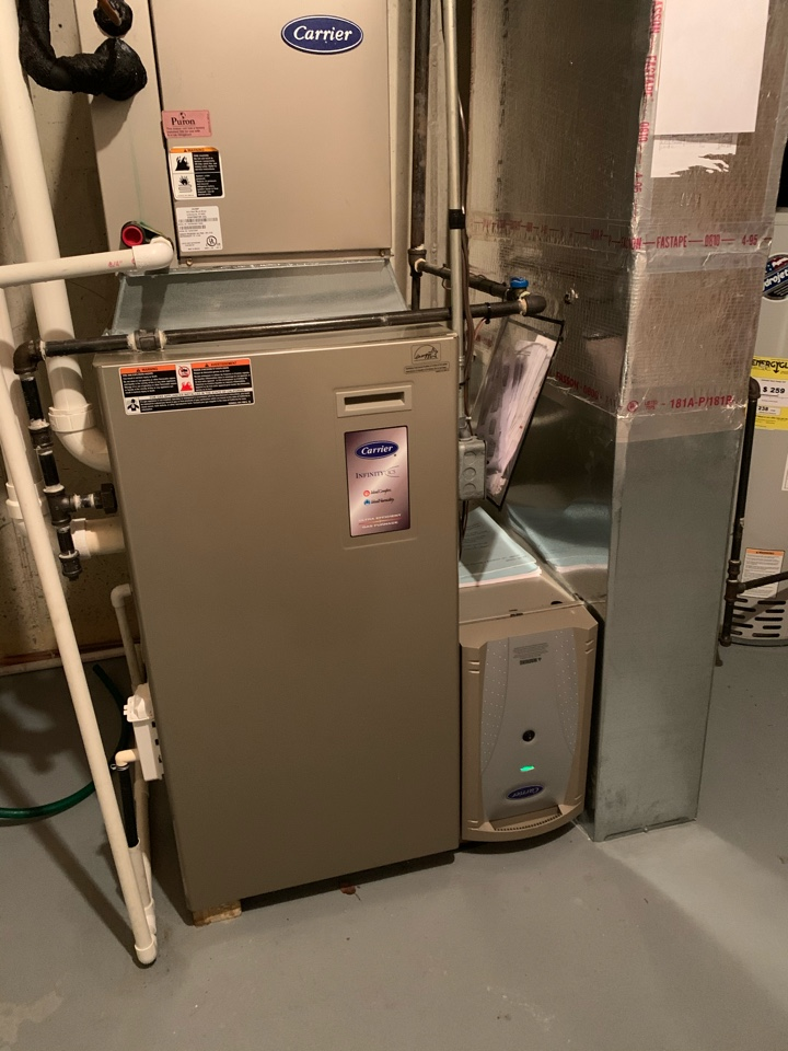Pittsboro, IN - 11 Year Old Carrier Gas Furnace Winter Tune Up